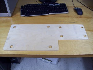 CoCo/MPI base plate quarter ¼ inch plywood